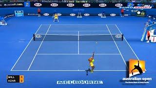 Tennis Elbow 2014 Australian open 2015 - Serena Williams vs Victoria Azarenka GAMEPLAY