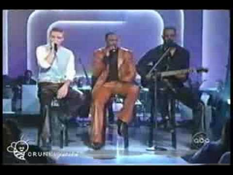 Justin Timberlake, Wayne Brady, and Brian Mcknight