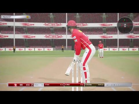 Kings xi Punjab vs sunrisers hyderabad at Mohali PCA