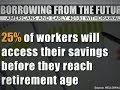 Record number of Americans draining retirement accounts