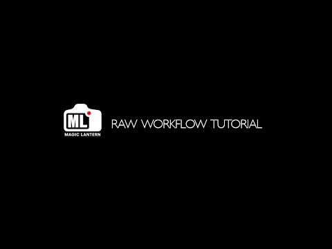 Magic Lantern - RAW - Workflow Tutorial -  MAC