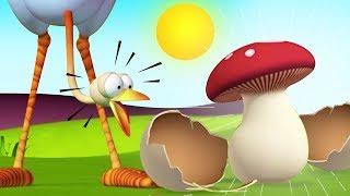 The Funny Mushroom Tale   Gazoon Hindi   Funny Animals Cartoon