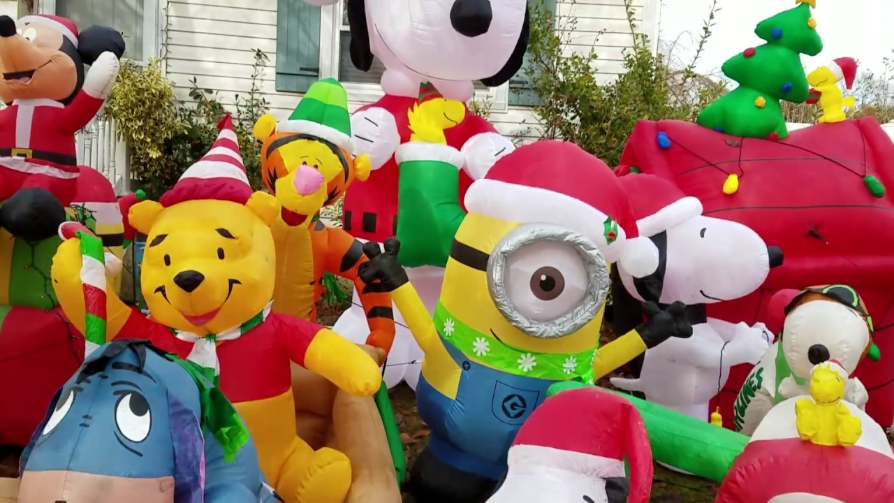 Christmas Inflatable.The Official 2017 Christmas Inflatable Display