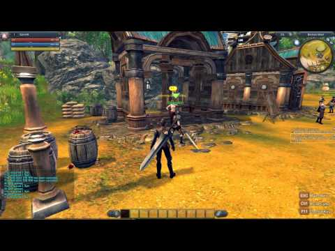 RaiderZ – Berserker (Warrior) Gameplay HD – Starting Out