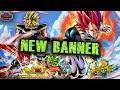 SUPER SAIYAN GOD VEGETA! Broly PART 2 Collaboration Summon! - Dragon Ball Legends - DB Legends