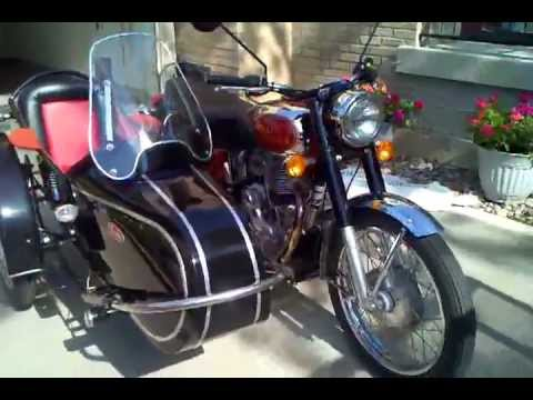 2009 Royal Enfield Bullet Deluxe 500 with Inder sidecar