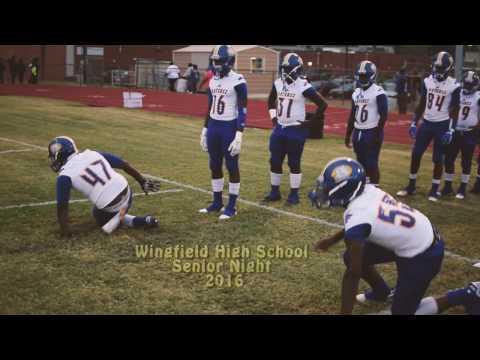 Wingfield High School Senior Night 2016