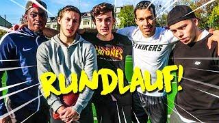 RUNDLAUF FUßBALL CHALLENGE + BESTRAFUNG !!