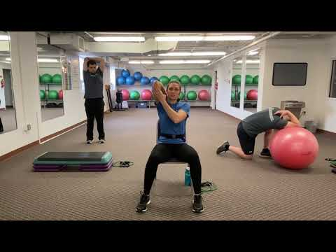 Home Workout #4 with OhioHealth Fitness Trainers -- Full Body Stretching