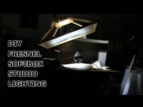 DIY soft Box Photography Lighting Fresnel Lens Soft power