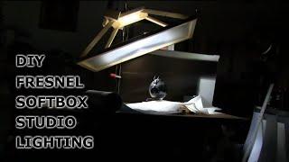 DIY soft box LED professional Fresnel Lens lighting of MEZE HEADPHONES