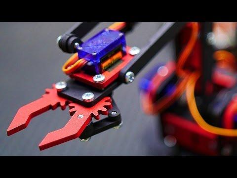 Собираем Руку Робот - Манипулятор