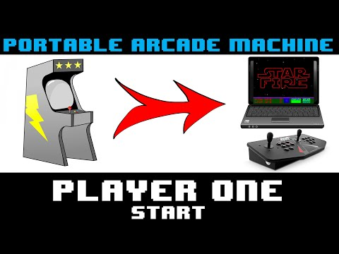 Turn An Old Laptop Into A Portable Arcade Machine - Player One Start