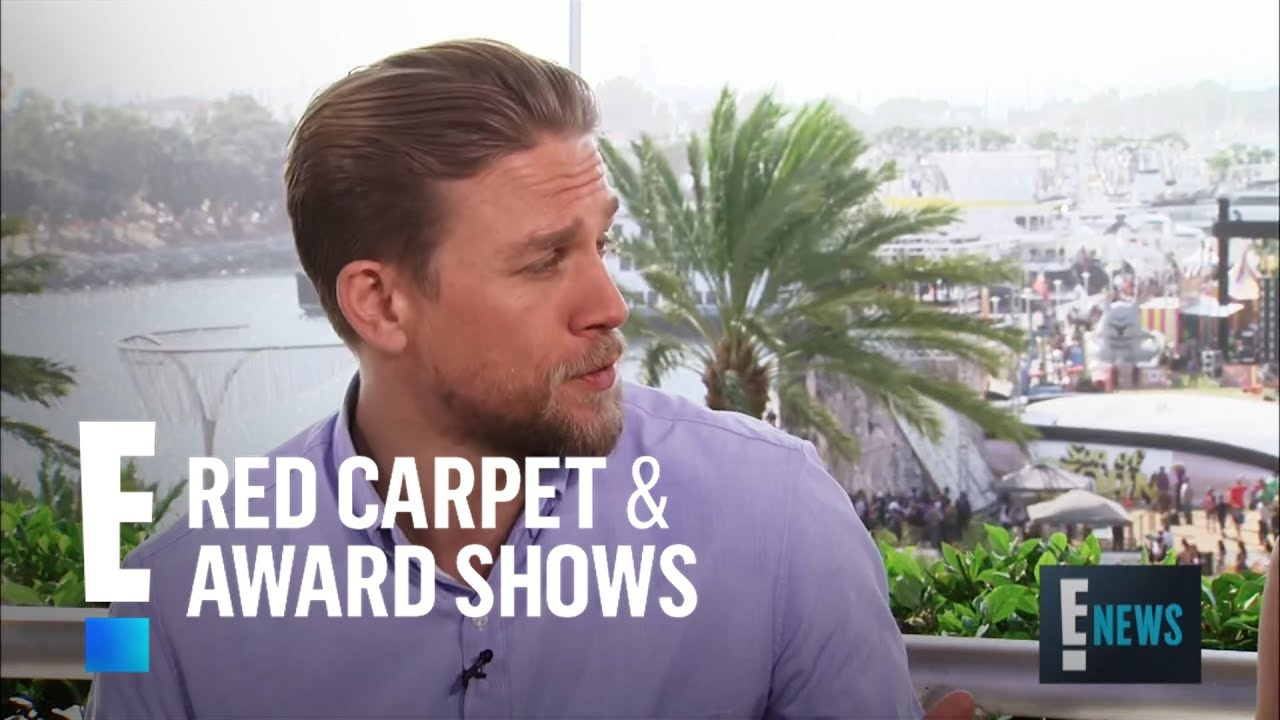 Charlie Hunnam Teases Working With David Beckham on Screen | E! Red Carpet & Live Events
