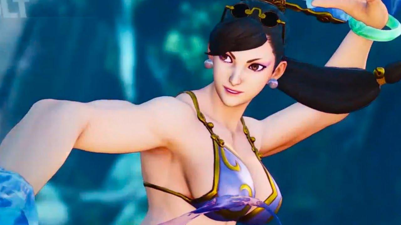 80e3e4a23cd Street Fighter 5 - Chun Li (Swimsuit) Online Matches - YouTube