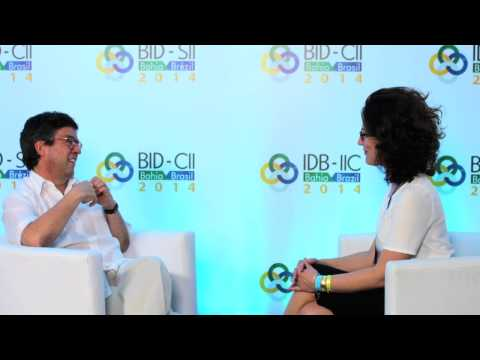 Interview with Luis Moreno, president of IADB - View from IADB 2014