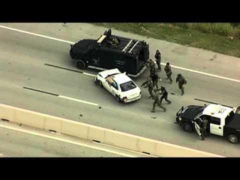 Fort Worth Police chase on I-30 ends in crash in Arlington