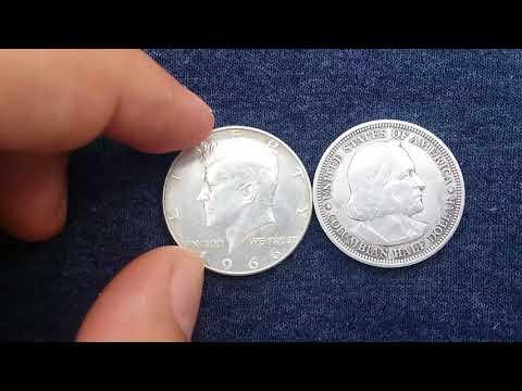 Monedas De Medio Dolar 1892 Y 1966