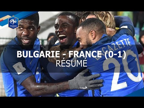 Equipe de France, qualifications 2018: Bulgarie - France (0-1) 2017, le résumé I FFF