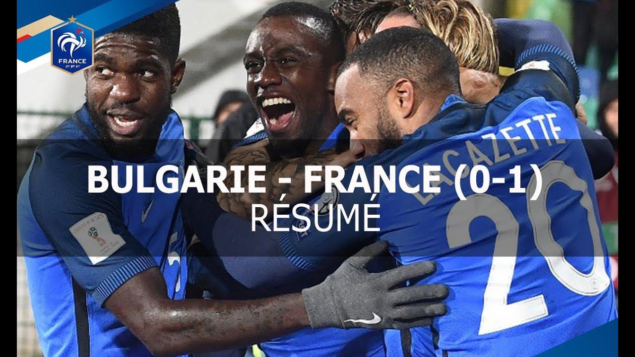 Болгария - Франция 0:1 видео