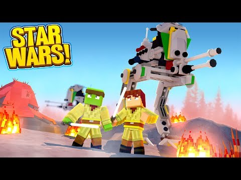 Minecraft Star Wars #2 -  UNDER ATTACK! w/TinyTurtle