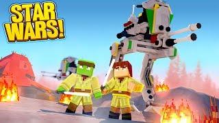 Minecraft Star Wars #2 -  UNDER ATTACK! w/TinyTurtle