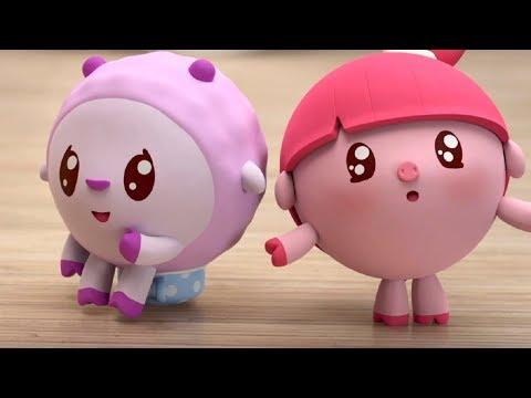Малышарики - Няни - серия 130 - Обучающие мультфильмы для малышей - приучение к горшку
