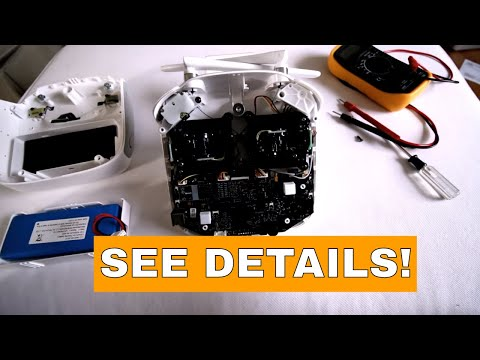 How to take apart a DJI Phantom 3 Pro's remote - Remote won't turn on - Replace battery