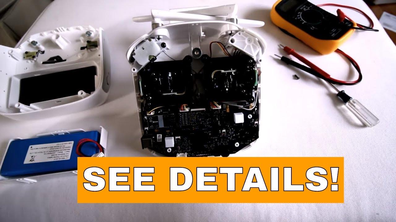 how to take apart a dji phantom 3 pro's remote - remote won't turn