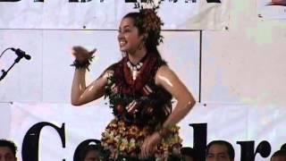 Tongan Tau'olunga Miss Black Pearl Suites - Kathleen Walters