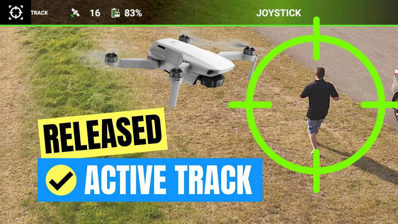 Mavic Mini Active Track is NOW possible :-)