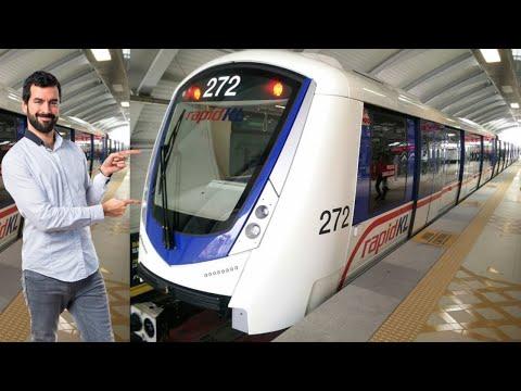 High Speed Rapid Kl Trains In Kuala Lumpur #shorts