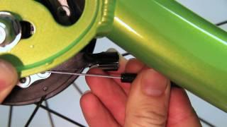 ElliptiGO Elliptical Bicycle Support Video #7 - Removing the ElliptiGO 8S Rear Wheel