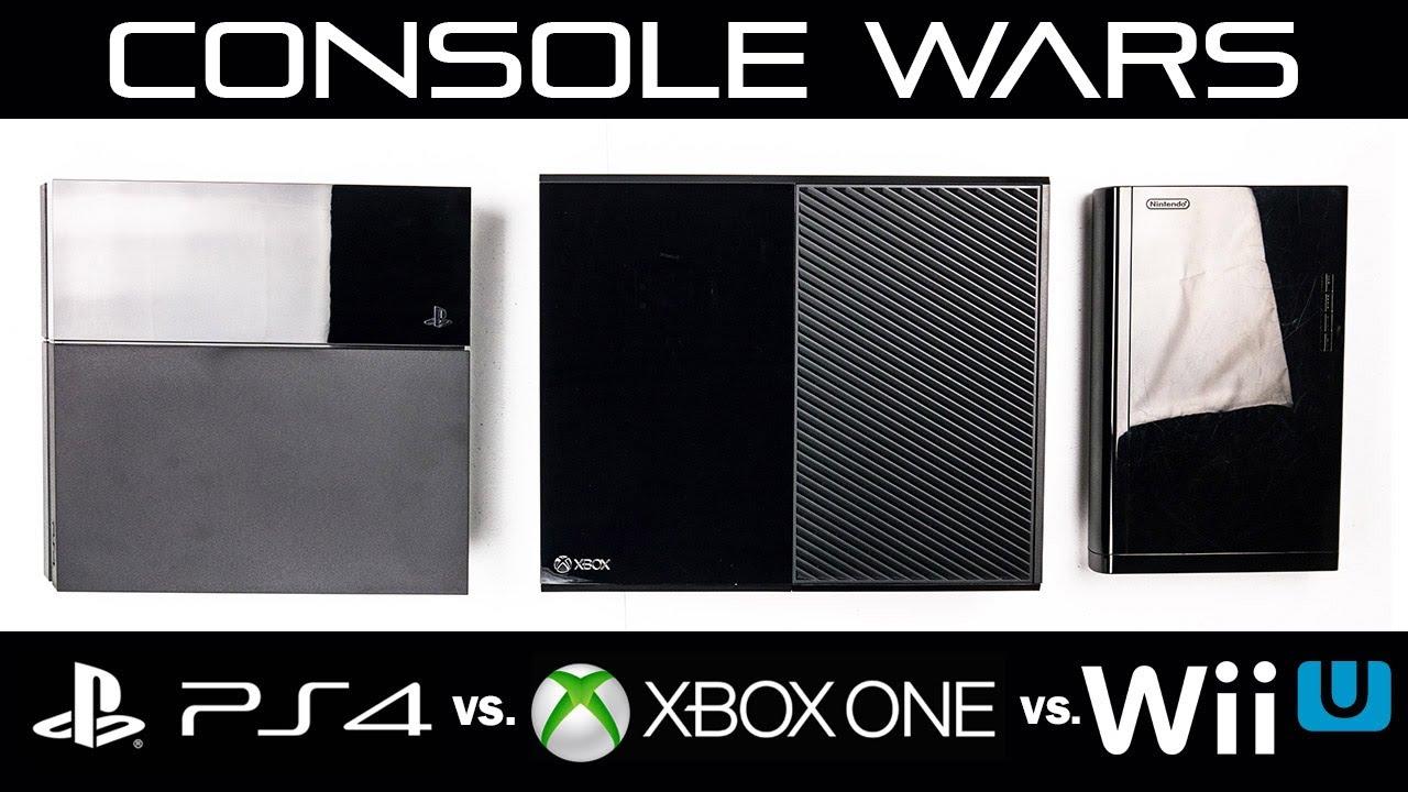 XBOX ONE Vs PlayStation 4 Vs Nintendo Wii U Full In