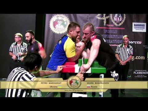 World Arm Wrestling Championship 2017 (Senior Men -90 kg RIGHT)