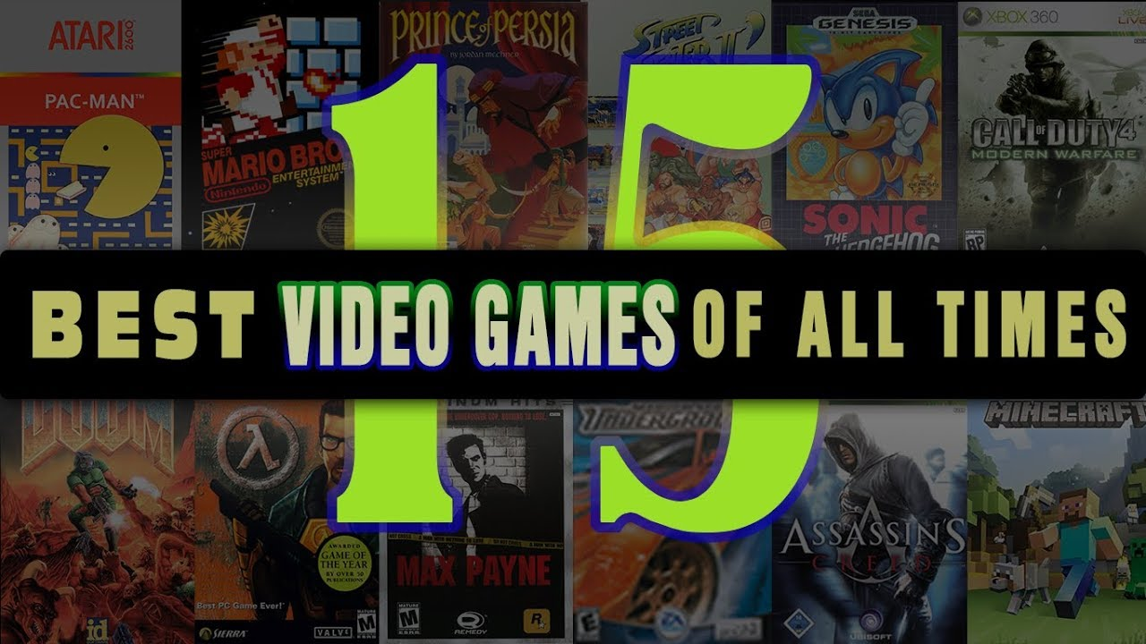 The 20 Most Popular Video Games of All Time (Updated)