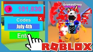 4th of July Update - Roblox Mining Simulator Codes