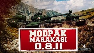 Модпак World of Tanks Сборка модов 0.8.11