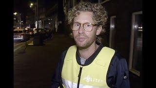 """Ewout Genemans liep mee met de politie voor Bureau Burgwallen: """"Dit kwam wel even binnen"""""""