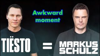 EPIC FAIL ... Tiësto was confused with Markus Schulz on Music Awards (AWKWARD MOMENT)