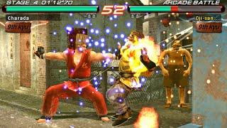 [TAS] Tekken 6 - Paul Phoenix (PSP)
