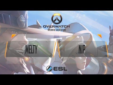 Overwatch - Melty eSport Club vs NiP (SG1) - Atlantic Showdown EU Qualifier #1 - Quarterfinal