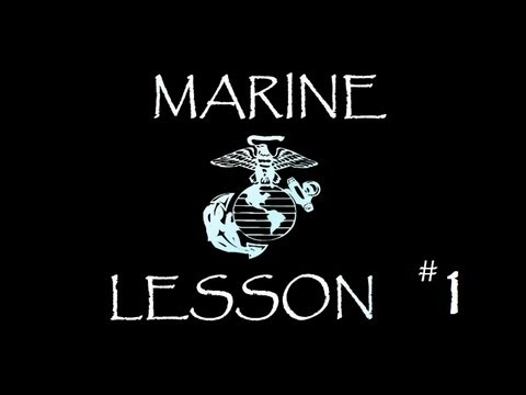 Marine Lesson # 1 - Trading punches with a Marine bigger than you, Not a good idea
