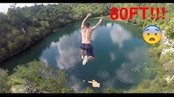 80FT CLIFF JUMPS IN FLORIDA!! (Lost GoPro)