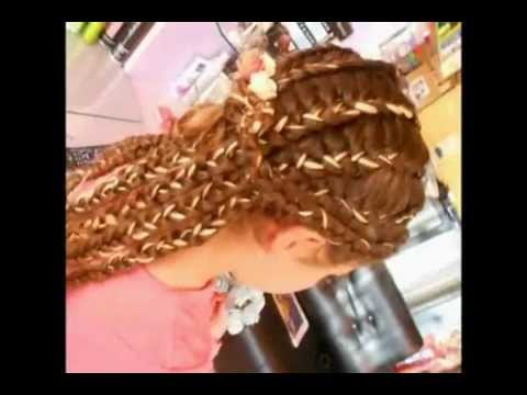 Parukeri Jonida Braided Hair Gersheta Youtube