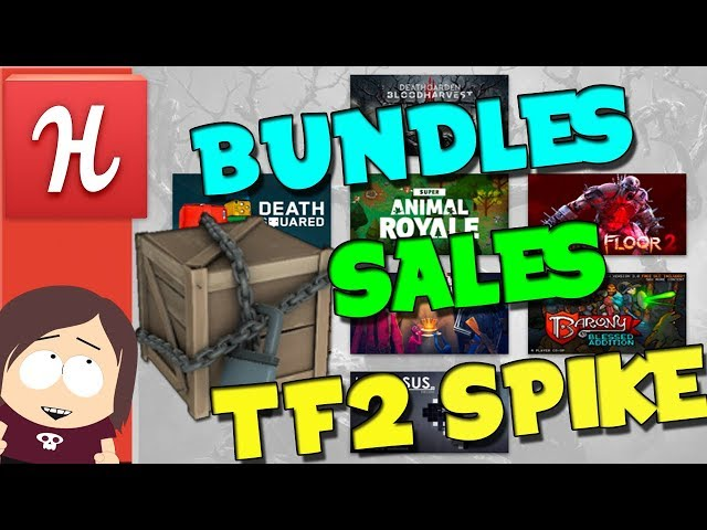 Humble Multiplayer Bundle || TF2 Market Spike || Steam Sales