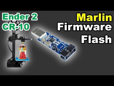 Creality Ender 2 CR-10 Marlin Firmware Flash Upgrade