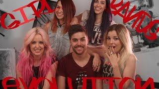 GIRLBANDS EVOLUTION - Chusita ft. @SWTCalifornia @KarliGavalda Thumbnail