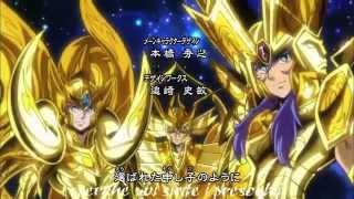 I Cavalieri Dello Zodiaco - Anima D'oro - Sigla Sub ITA - By Mrx