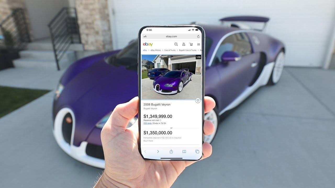 My Bugatti Ebay Auction was SABOTAGED.